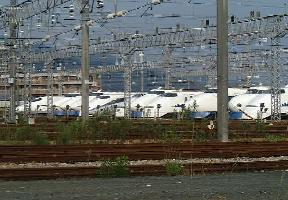 博多南駅で2001年8月に撮影